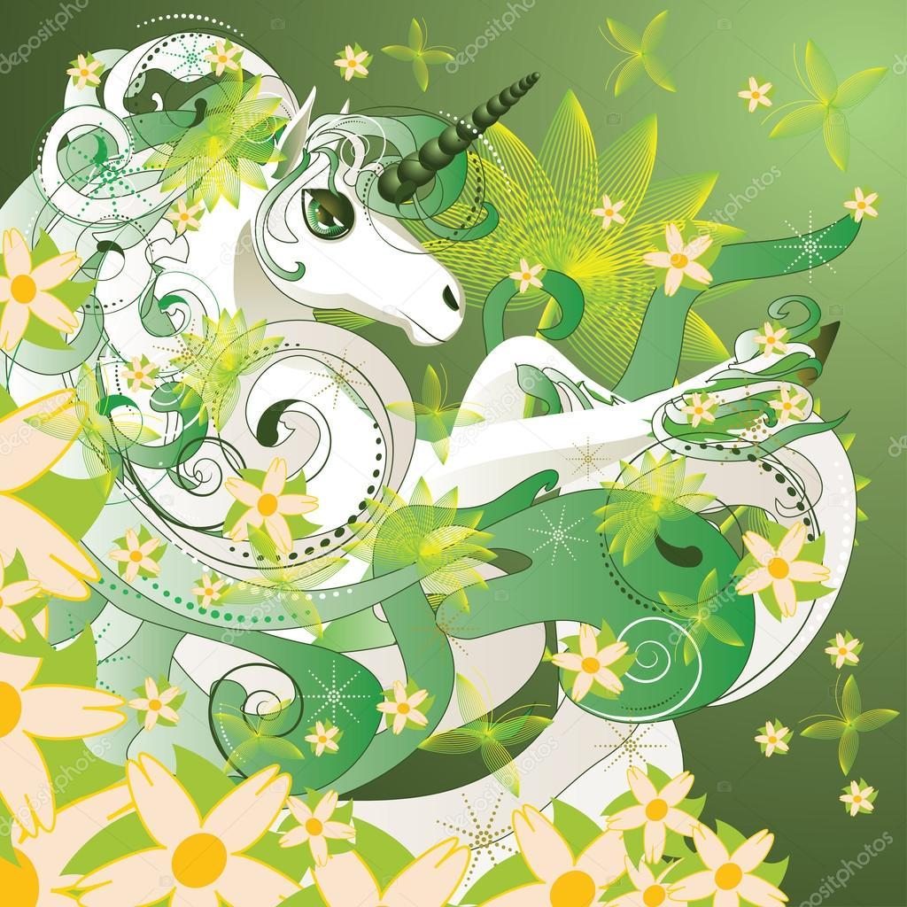 Spring unicorn