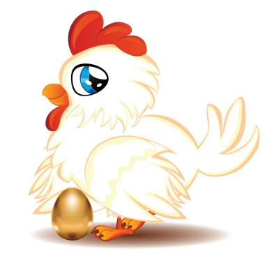 Hen with Golden Egg