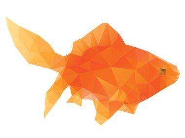 Polygonal Gold Fish