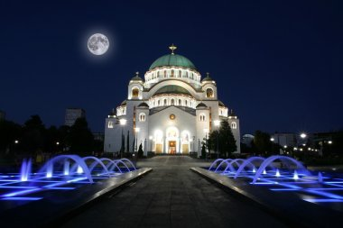 Cathedral of Saint Sava in Belgrade, Serbia