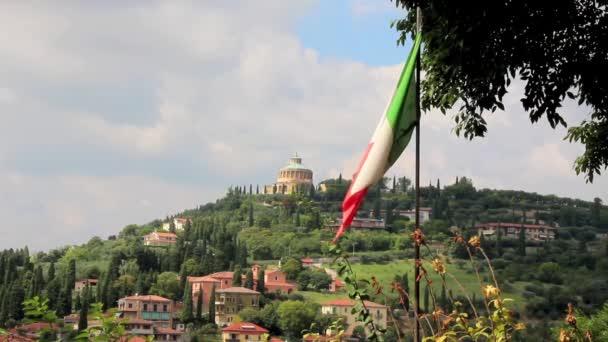 Tipical Italian Hill near Verona, Italy, Europe