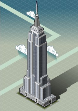 Isometric Empire State Building