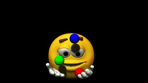 Looping Emoticon Animation: Juggling