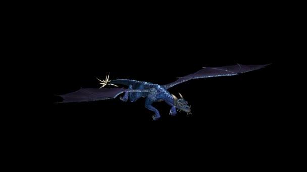 Blue Dragon animáció hurkolás 02