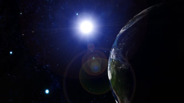 3D earth animace 25 alfa matný