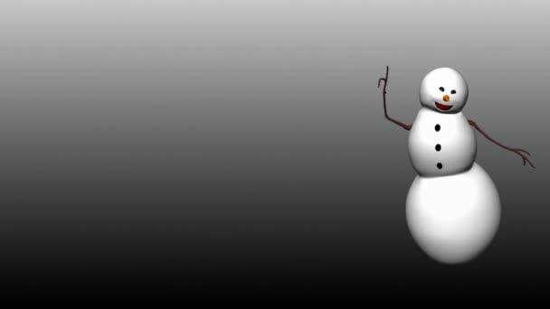 sněhulák taneční 03