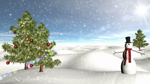 zimní scény 04 sníh