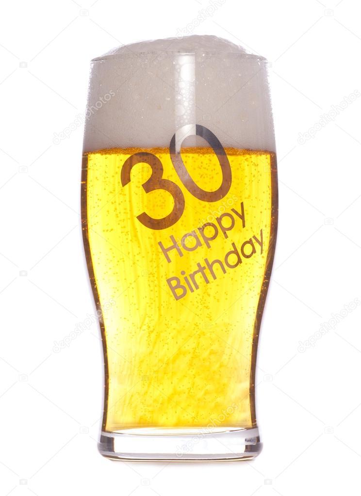 30e Verjaardag Bier Stockfoto C Chrisbrignell 35754231