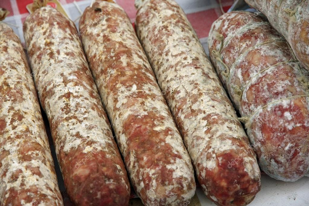 many salami with garlic counter sales of cold cuts market