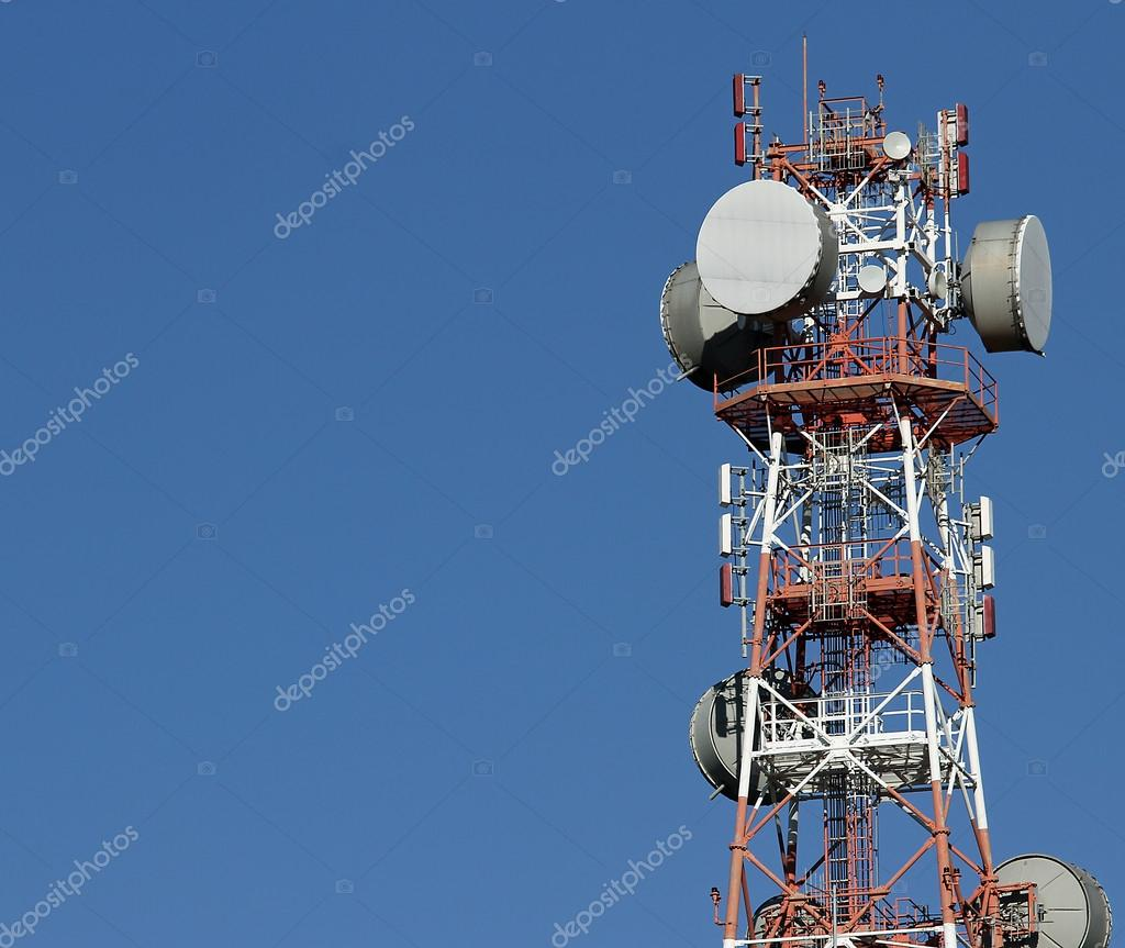 repeaters antennas for mobile communication and television signa