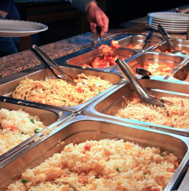 tray filled with rice