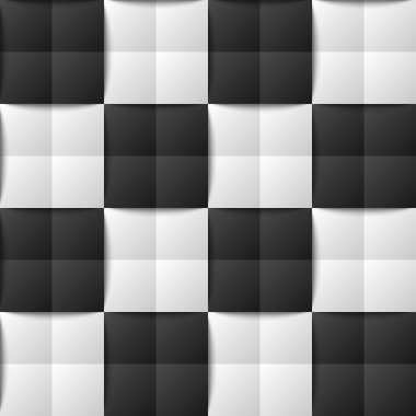 Chessboard seamless pattern
