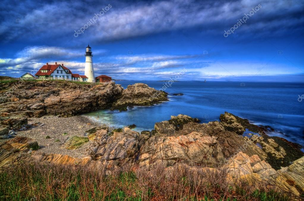 Portland Head Light & Sunset