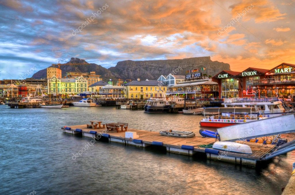 V&A Waterfront & Sunset