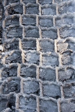 Winter tires pattern
