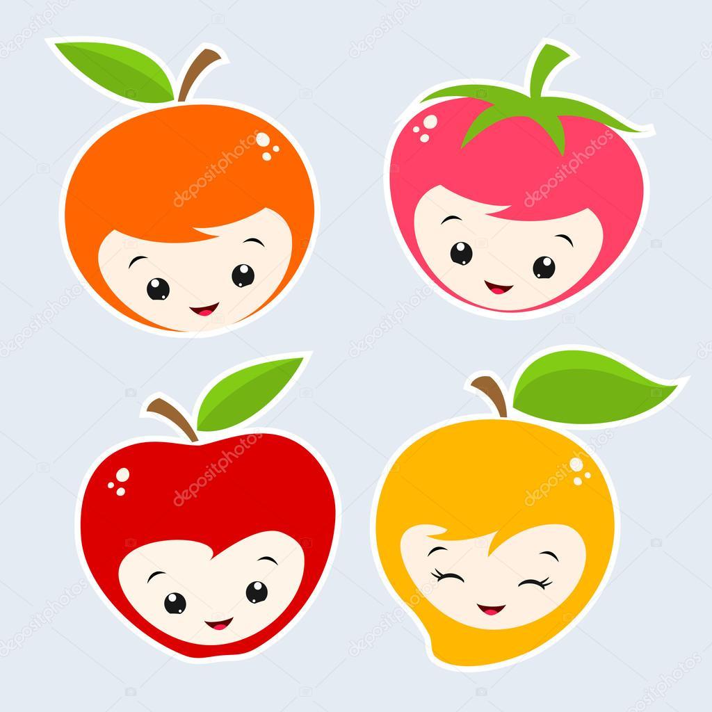 漫画の果物 ストックベクター Mumut 51589303