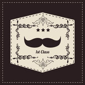 Fotografie Hipster mustache