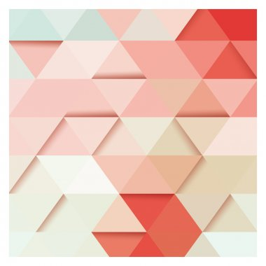 Abstract geometric colorful background, 3D, pattern design elements, vector illustration