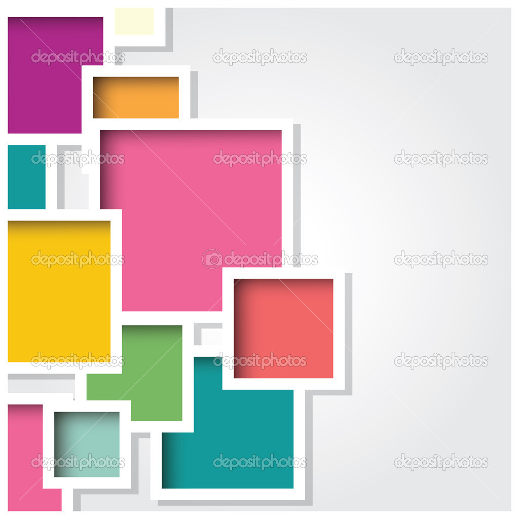 abstracto d fondo cuadrado azulejos de colores geomtricos vector u vector de bluelela