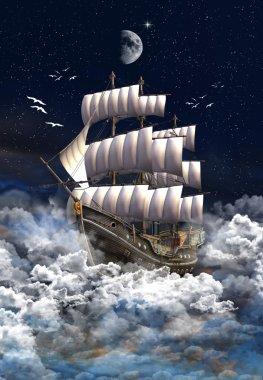 Sailing Ship - Computer Artwork