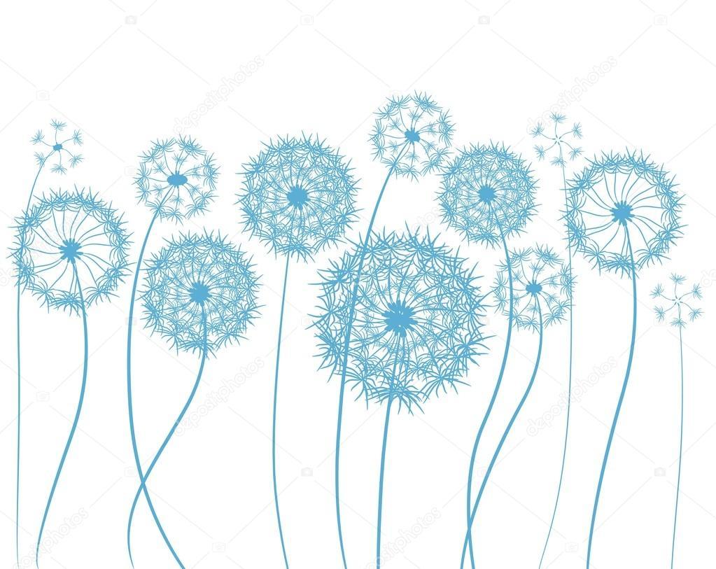 Dessin de fleur pissenlit image vectorielle annbozshko - Dessin fleur pissenlit ...