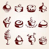 Fotografie Cupcakes set