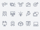 Fotografie Marketing icon set
