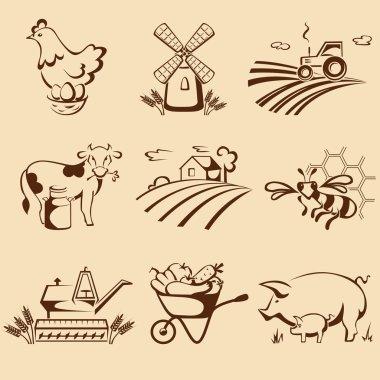 Farm emblems