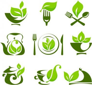 Organic food design elements