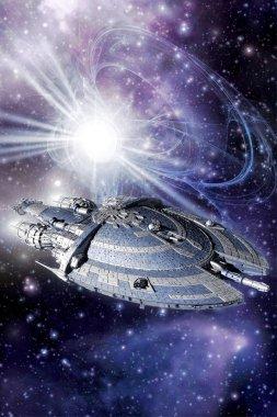 Capital spaceship