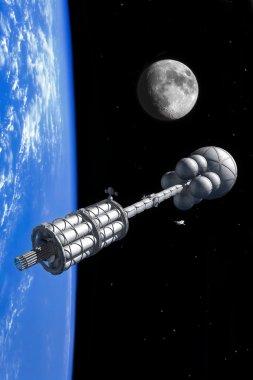 Interstellar spaceship