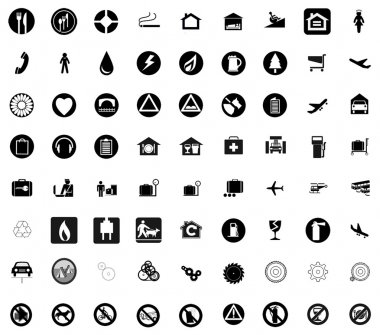 Various signs and symbols
