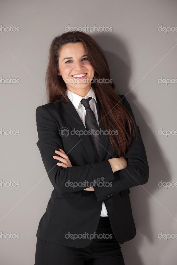 aad4530cdb75 Immagini royalty-free simili  Ritratto di donna d affari Foto Stock