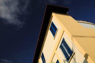 Building corner.
