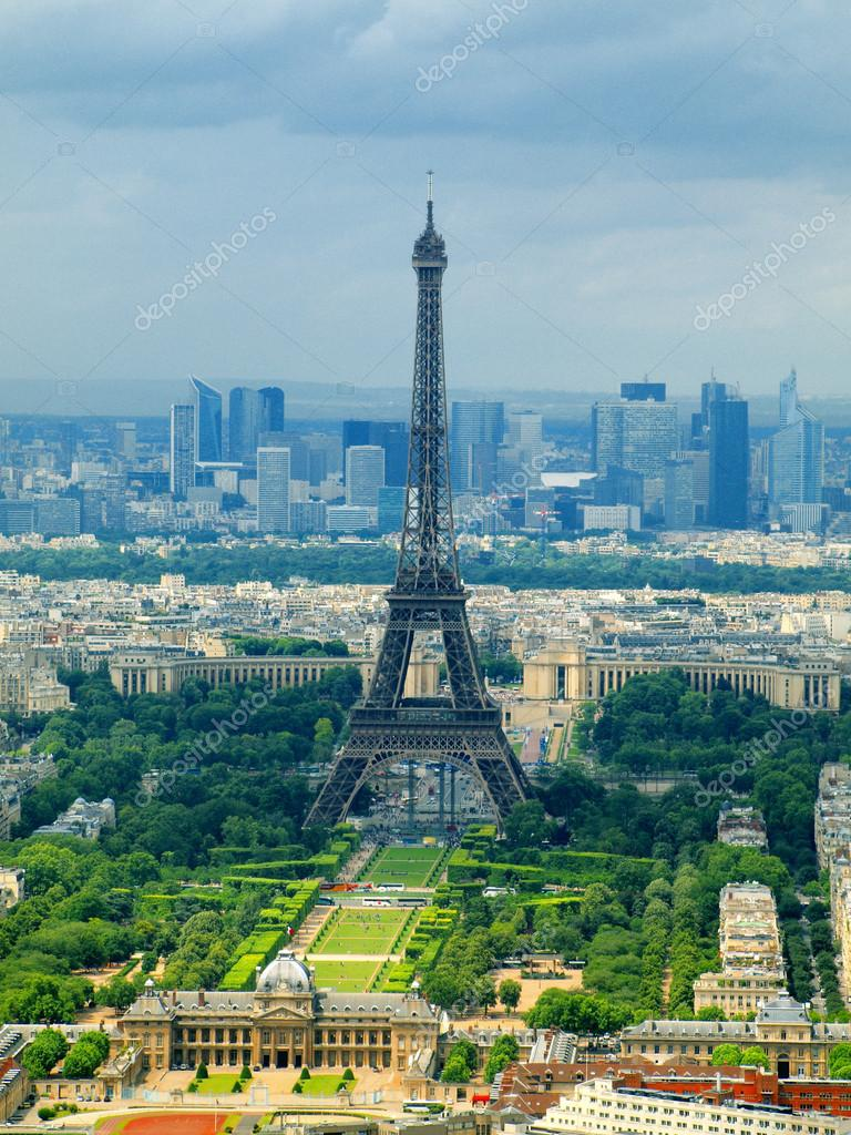 vue de paris depuis la tour montparnasse france photographie bokstaz 13471518. Black Bedroom Furniture Sets. Home Design Ideas