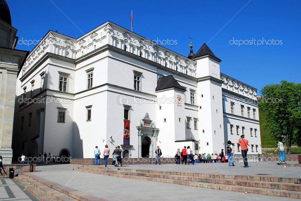 リトアニア大公の宮殿 - ストッ...