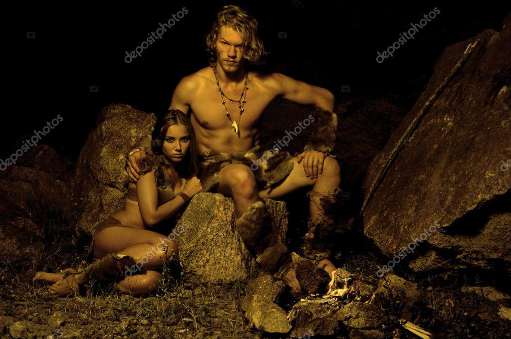 голые первобытные люди фото