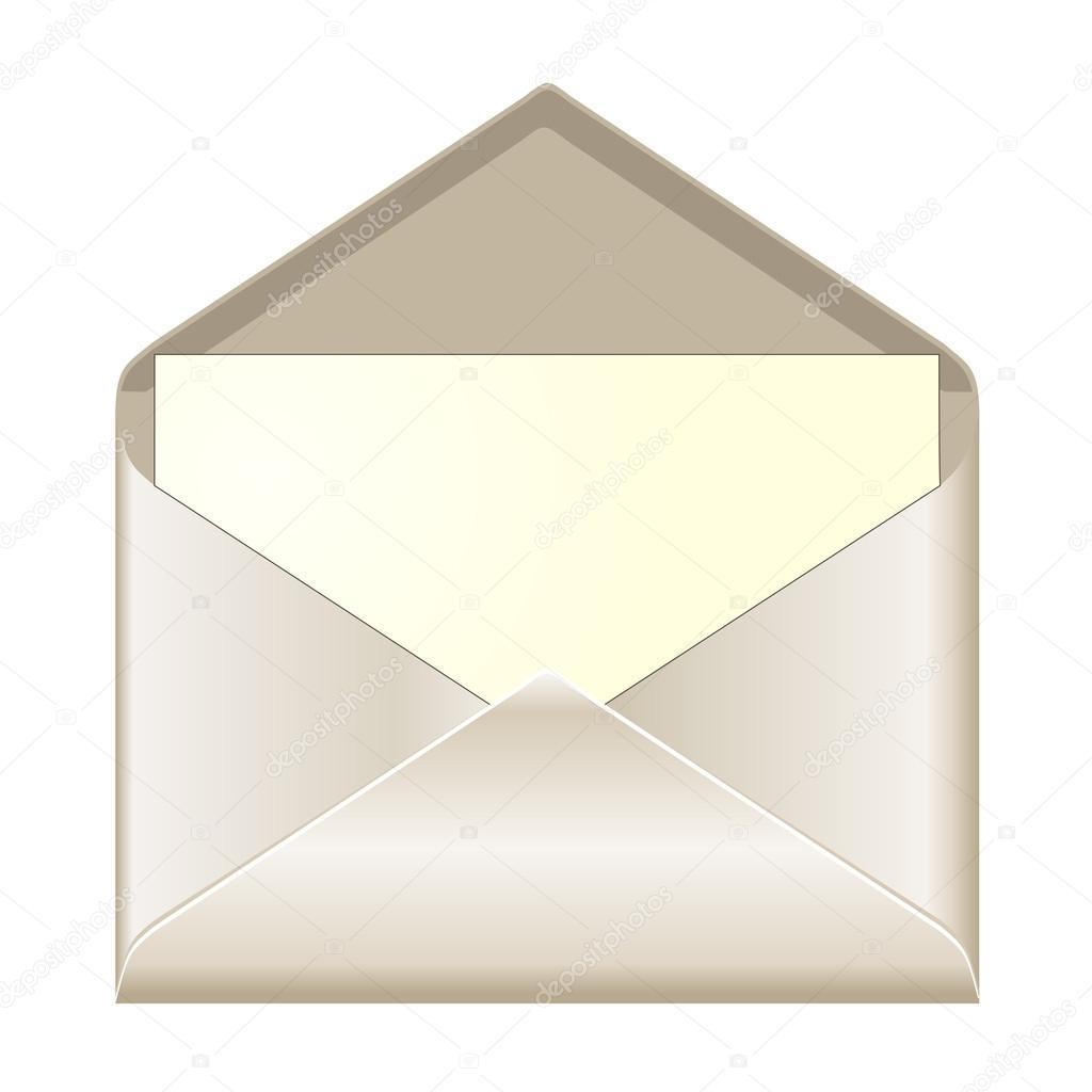 Open envelope with card — Stock Vector © PiXXart #18973395