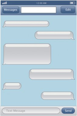 Chat template