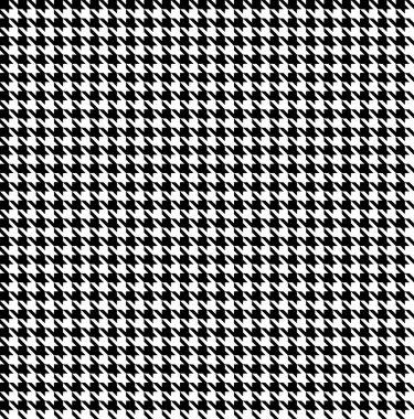 Black-white houndstooth background -seamless