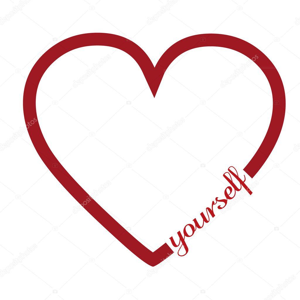 Love yourself stock vector pixxart 49857313 love yourself stock vector buycottarizona