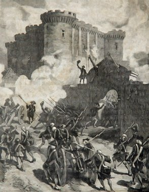 Storming of the Bastille Paris 1789