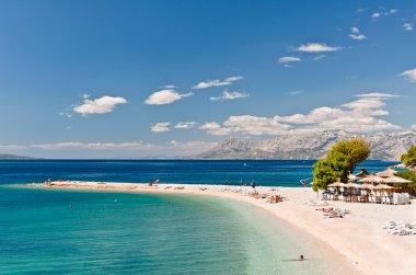 Beach at Makarska, Croatia