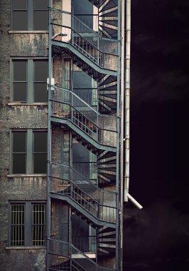 Spooky run down building