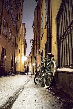 Bike in Stockholm old town