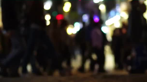 rozmazané lidé v pohybu