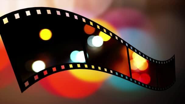 filmový pás s tečkami