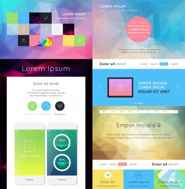UI is a set of components