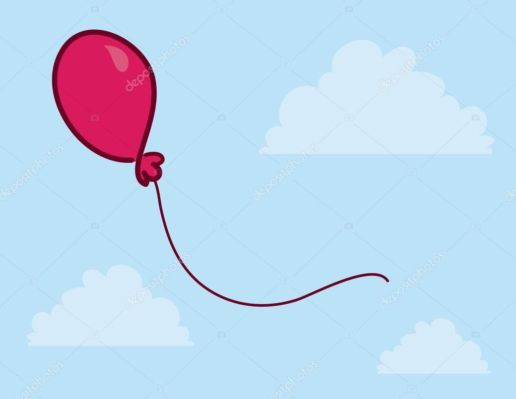 Balloon Floating Sky