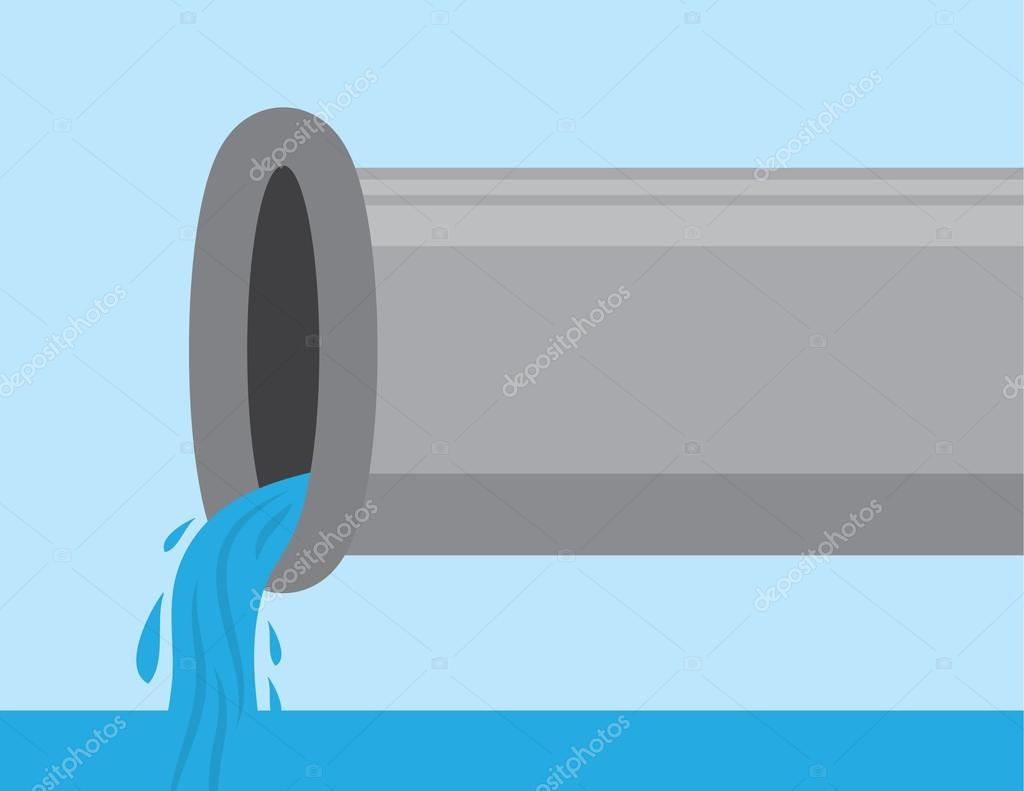 Pipe with Water